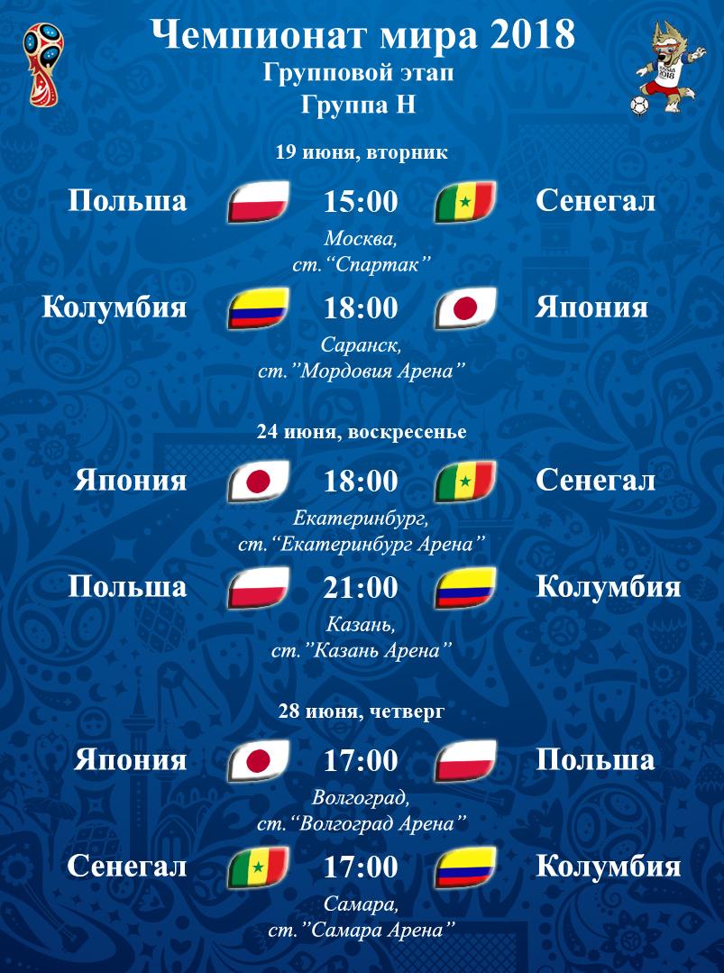 мінует, робити, расписания матчей чемпионата мира спальном